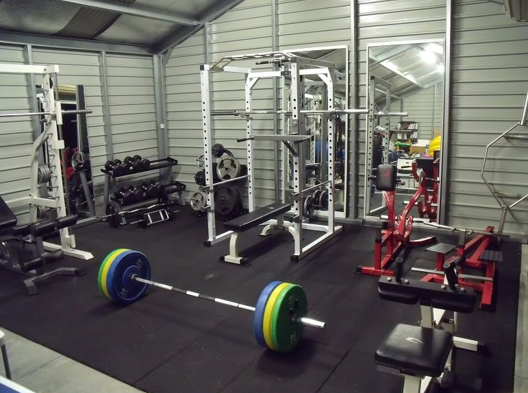 Garage Gym Man Cave : Best equipment for a home gym